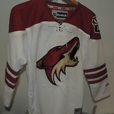 NHL REEBOK Premier Arizona Coyotes White Hockey Jersey New Youth L/XL