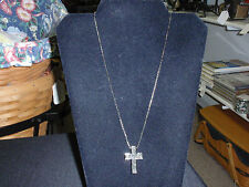 """Park Lane Jewelry, """"CHRISTIAN"""" Necklace His/Hers, Hematite Crystals, New"""
