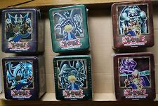 Yu-Gi-Oh 2002 Collector Tin set of 6 New Factory Sealed GEM Mint condition Rare!