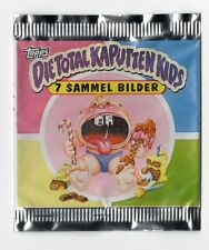 Die Total Kaputten Garbage Pail Kids GPK Topps German 1994 Opened Wrapper Packet