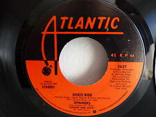 SPINNERS Disco ride / medley working my way back to you ... 3637 ATLANTIC