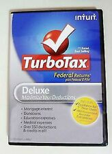 TurboTax Deluxe 2012 Federal Returns Disc with Federal E-Files For Windows & Mac