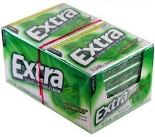 WRIGLEY'S EXTRA SPEARMINT Sugar Free Gum,10/15 Stick Packs(150 Sticks)FRESH