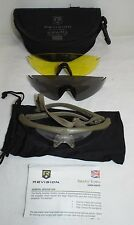 REVISION SAWFLY SAFETY SPECTACLES GLASSES - Three lenses , British Army Issue