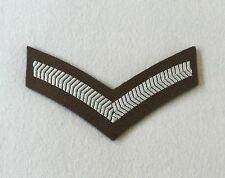 Lance Corporal Rank Badge, FAD No 2 Service Dress, LCpl 1 Bar Tape, Chevron Army