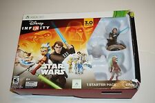 Disney Infinity 3.0 Edition Star Wars STARTER PACK XBOX 360 NEW FACTORY SEALED