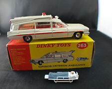 Dinky Toys Gb 263 Ambulance Pontiac Superior Criterion en boîte