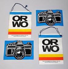 Orwo-bolsas de papel y períodos de prácticas-adhesivo
