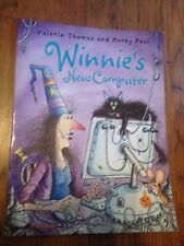 Winnie's New Computer (Winnie the Witch) by Thomas & Paul Large Softcover Book