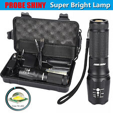 5000LM Shadowhawk X800 Tactical Flashlight LED Zoom Military Torch G700 Lamps US
