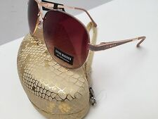 Steve Madden Women's Sunglasses Avaitor Gold Tone 100% UV Protection New