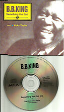 B.B. KING & KOKO TAYLOR Something you got EUROPE Made PROMO DJ CD single 1993 bb