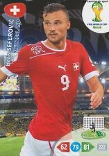 N°302 HARIS SEFEROVIC # SWITZERLAND PANINI CARD ADRENALYN WORLD CUP BRAZIL 2014
