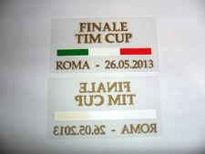 ROMA PATCH RICAMO PER MAGLIA MAGLIETTA FINALE TIM CUP 2013 BADGE ROMA LAZIO