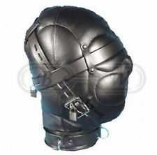 Faux Leather sensoriale privazione Gimp MASK BONDAGE Hood-SLAVE Kinky Fetish