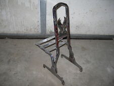 old Chopper Harley SISSY BAR backrest Rack Panhead Shovelhead Ironhead V-Twin