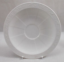 Villeroy & and Boch CAMEO WEISS white saucer for tea or coffee cup 16cm NWL