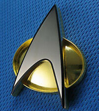 1:1 Star Trek The Next Generation Communicator Magnetic Captain Badge Replica