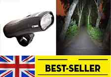 Front Halogen Light - waterproof black bright lights Bike Lamp -BATERY INCLUDED