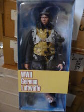 Action Figure 1/6 Three Zero Pilote Luftwaffe WWII - Figurine 12 pouces Dragon