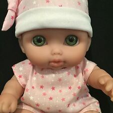 Berenguer Doll 28-10 Baby Newborn Chubby Green Eyes 9""