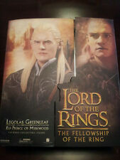 "NIB THE LORD OF THE RINGS LEGOLAS GREENLEAF 12"" SIDESHOW COLLECTIBLE FIGURE LOTR"