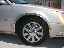 For: CADILLAC DEVILLE DTS; FTCA101 Stainless Steel Fender Trim LONG 2000-2010