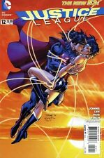 Justice League #12 DC Comics 2012 New 52 Jim Lee Cover First Print Comic Kissing