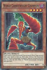 YU-GI-OH CARD: WORLD CHAMPION carrotweight-shvi-en091 1st Edition