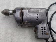 Black and Decker vintage electric drill Home Utility 1/4 115 volt 2250 RPM