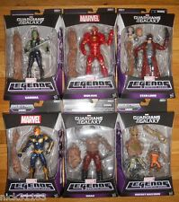 MARVEL LEGENDS INFINITE GUARDIANS OF THE GALAXY SET 7 FIGURES NOVA RACOON GROOT