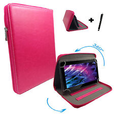 360° drehbare 7 zoll Tablet Tasche Hülle blackberry playbook - Pink 7