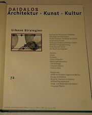 DAIDALOS 1999 #72-73 Architecture Art Culture 2 Vol bnd Architektur Kunst Kultur