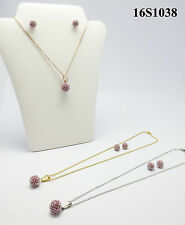 Fashion jewelry set women 18k gold plated necklace  earrings  TOP QUALITY AAAAA+
