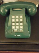 Lonestar 922 Classic Green Desktop Retro Style Telephone - No Handset Cord!!!