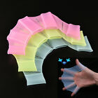 Good Silicone Swimming Fins Hand Webbed Flippers Swim Gear Training Gloves  OB
