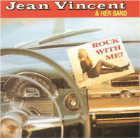 JEAN VINCENT Rock With Me CD - British Female Rockabilly Rock 'n' Roll NEW
