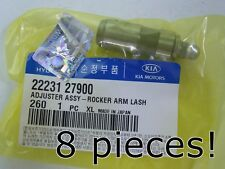 ACCENT 00-07 SANTA FE 05-09 CEED 07- GENUINE VALVE ADJUSTER 8 PIECES 2223127900