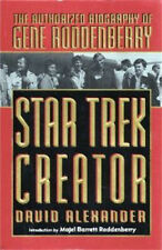 STAR TREK Creator - Authorized Biography of Gene Roddenberry - G Alezander - NEW
