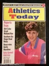 ATHLETICS TODAY - SALLY GUNNELL INTERVIEW - OCT 3 1991