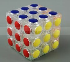 New Transparent Rubik's Cube High Challenge 6 Color Polygon Toy Megaminx Magic