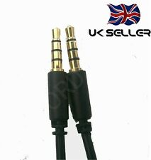 3.5 mm 4-pole Audio Cable for Bose Aviation A20 Headphones Headset Aux Lead