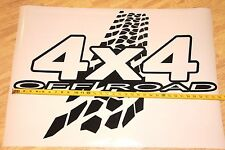 22in x 32in BIG 4X4 OFF ROAD Decal Sticker for car suv truck door hood wall side