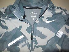 Nike Jacquard Element Long Sleeve Running Shirt Athletic Zip Dri Fit Mens Small