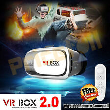 Cardboard VR BOX 2.0 Google Virtual Reality 3D Glasses Bluetooth Remote Gamepad