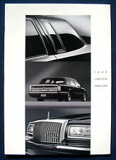 Prospekt brochure 1995 Lincoln Town Car  (USA)