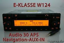 Mercedes Original Navigationssystem W124 C124 E-Klasse Audio 30 APS AUX-IN Navi
