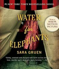 WATER FOR ELEPHANTS audio book- CD by SARA GRUEN FREE SHIPPING