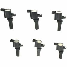 New Set of 6 Ignition Coils Jaguar S-Type Lincoln LS 2000-2005