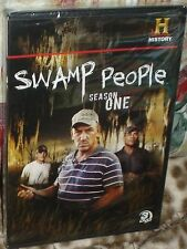 SWAMP PEOPLE SEASON ONE 3-DISC DVD, NEW AND SEALED, BONUS FEATURES